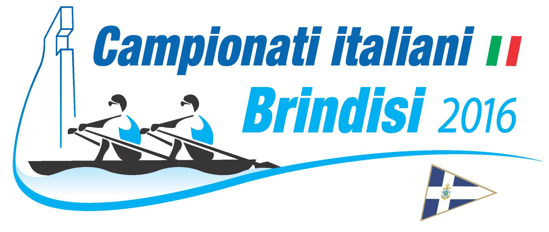 logo campionati di canottaggio