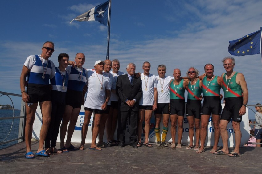 La Lega Navale di Brindisi ai campionati di canottaggio di Mondello