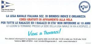Lega Navale Italiana Brindisi Gruppo Sportivo Vela 0