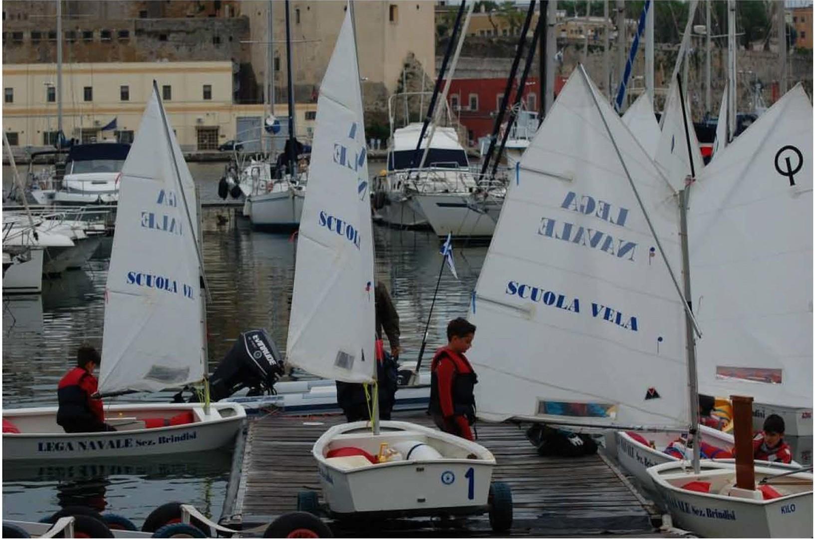 Lega Navale Italiana Brindisi Gruppo Sportivo Vela 7