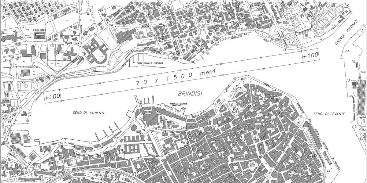 campo di regata Brindisi 1500m