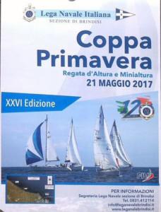 locandina Coppa Primavera 2017